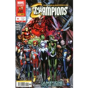 Champions - N° 14 - Champions - Marvel Italia