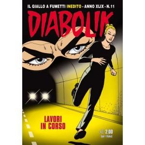 Diabolik Anno 49 - N° 11 - Lavori In Corso - Diabolik 2010 Astorina Srl