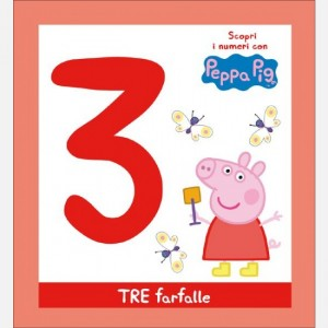 Scopri l'alfabeto con Peppa Pig TRE farfalle