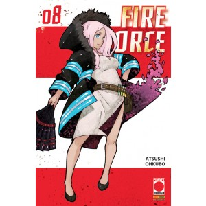 Fire Force - N° 8 - Fire Force - Manga Sun Planet Manga