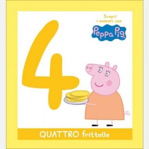 Scopri l'alfabeto con Peppa Pig 4 frittelle