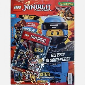 LEGO Ninjago Numero 23 + Una minifigure Lego® Ninjago!®