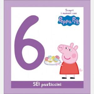 Scopri l'alfabeto con Peppa Pig SEI torte al cioccolato