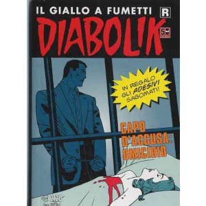 Diabolik Ristampa - N° 614 - Capo D'Accusa: Omicidio - Astorina Srl