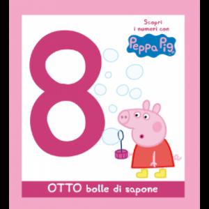 Scopri l'alfabeto con Peppa Pig OTTO bolle di sapone