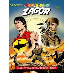 """Zagor Color - N° 7 - La Giustizia Di """"Wandering"""" Fitzy - Bonelli Editore"""