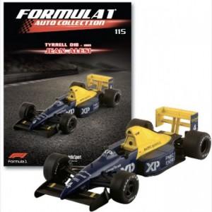Formula 1 Auto Collection Tyrrel 018 - 1989