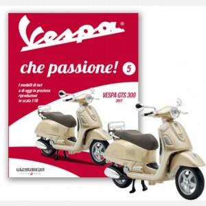 Vespa che passione! Vespa Gts 300 (2017)