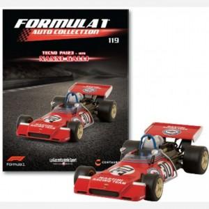 Formula 1 Auto Collection Tecno Pa 123 - 1973
