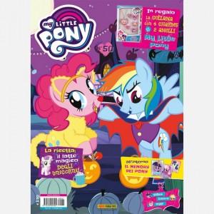 My Little Pony Magazine Numero 50 + collana con 4 charms + 2 anelli