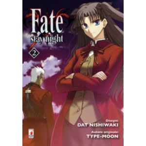 Fate Stay Night - N° 2 - Fate Stay Night - Zero Star Comics