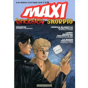 Lanciostory Skorpio Maxi - N° 40 - Lanciostory Skorpio Maxi - Editoriale Aurea