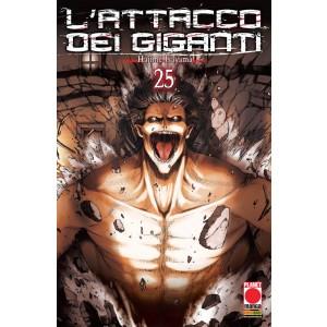 Attacco Dei Giganti - N° 25 - Attacco Dei Giganti - Generation Manga Planet Manga