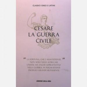 Classici greci e latini Cesare, La guerra civile