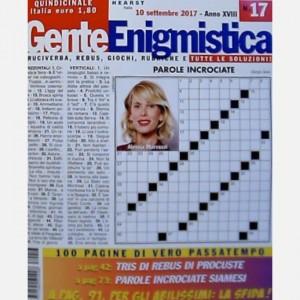 GENTE Enigmistica Uscita N° 17 del 2017 (Anno XVIII)