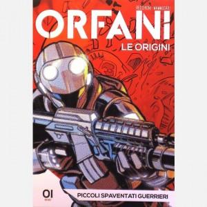 Orfani Piccoli spaventati guerrieri
