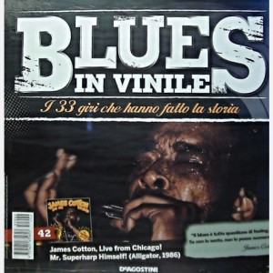 Blues in Vinile James Cotton, Live from Chigaco! Mr Harp himself!