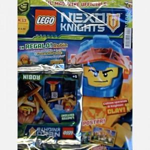 Lego Nexo Knights Lego Nexo Knights N° 13 + Robin + Spada + Martello + Incudine + Potere di Merlok