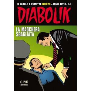 Diabolik Anno 48  - N° 9 - La Maschera Sbagliata - Diabolik 2009