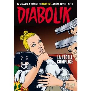 Diabolik Anno 48  - N° 10 - La Fedele Complice - Diabolik 2009