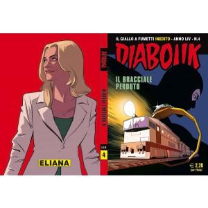 Diabolik Anno 54  - N° 4 - Il Bracciale Perduto - Diabolik 2015