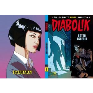 Diabolik Anno 54  - N° 6 - Sotto Assedio - Diabolik 2015