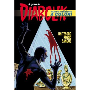 Diabolik Il Grande  - N° 23 - Un Tesoro Rosso Sangue - Il Grande Diabolik 2010