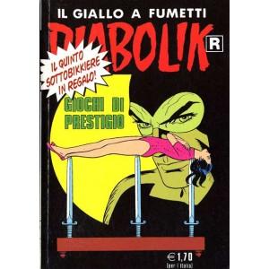 Diabolik Ristampa  - N° 507 - Giochi Di Prestigio -