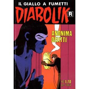Diabolik Ristampa - N° 511 - Anonima Delitti -