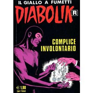 Diabolik Ristampa  - N° 541 - Complice Involontario -