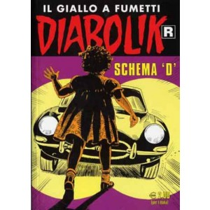 """Diabolik Ristampa  - N° 598 - Schema """"D"""" -"""