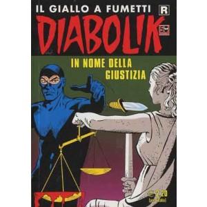 Diabolik Ristampa  - N° 615 - In Nome Della Giustizia -