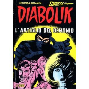 Diabolik Swiisss  - N° 33 - L'Artiglio Del Demonio -