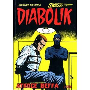 Diabolik Swiisss  - N° 34 - Atroce Beffa -