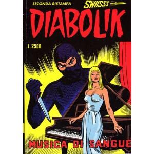 Diabolik Swiisss  - N° 44 - Musica Di Sangue -