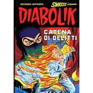 Diabolik Swiisss  - N° 50 - Catena Di Delitti -