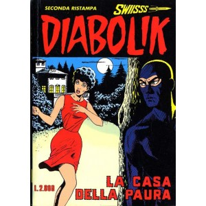 Diabolik Swiisss  - N° 51 - La Casa Della Paura -