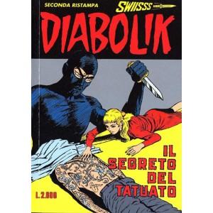 Diabolik Swiisss  - N° 52 - Il Segreto Del Tatuato -