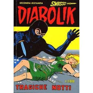 Diabolik Swiisss  - N° 53 - Tragiche Notti -