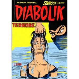 Diabolik Swiisss  - N° 54 - Terrore -