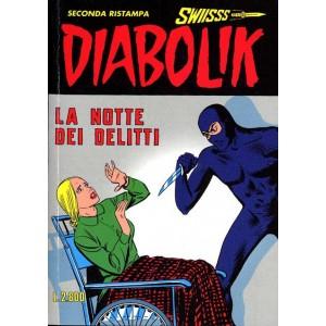 Diabolik Swiisss  - N° 60 - La Notte Dei Delitti -