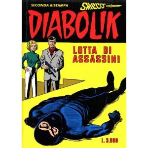Diabolik Swiisss  - N° 65 - Lotta Di Assassini -