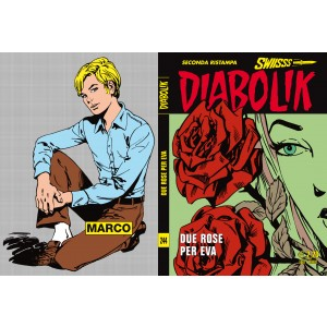 Diabolik Swiisss  - N° 244 - Due Rose Per Eva -
