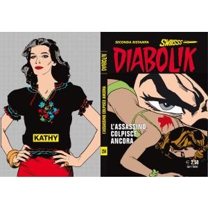 Diabolik Swiisss  - N° 254 - L'Assassino Colpisce Ancora -