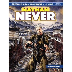 Nathan Never Speciale  - N° 20 - Non Umano -