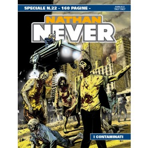 Nathan Never Speciale  - N° 22 - I Contaminati -