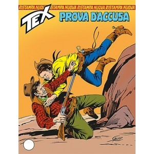 Tex Nuova Ristampa - N° 338 - Prova D'Accusa -