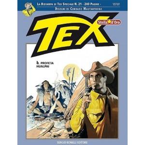 Tex Stella D'Oro  - N° 21 - Il Profeta Hualpai -