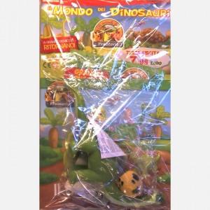 Gli animali della Preistoria - 2a edizione Brontosauro Mamma + uovo di dinosauro