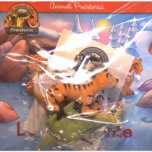 Gli animali della Preistoria - 2a edizione Smilodonte Madre + Brontosauro figlio